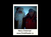 Chris Wheeler & SantaClaus!
