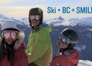Ski + BC = SMILES open