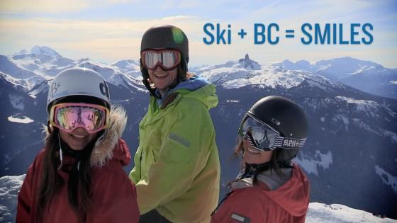 Ski + BC = SMILES open
