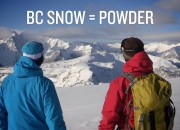 BC SNOW = POWDER Picture